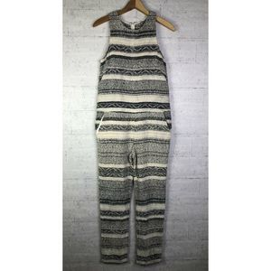 Mara Hoffman Textured Jumpsuit Striped